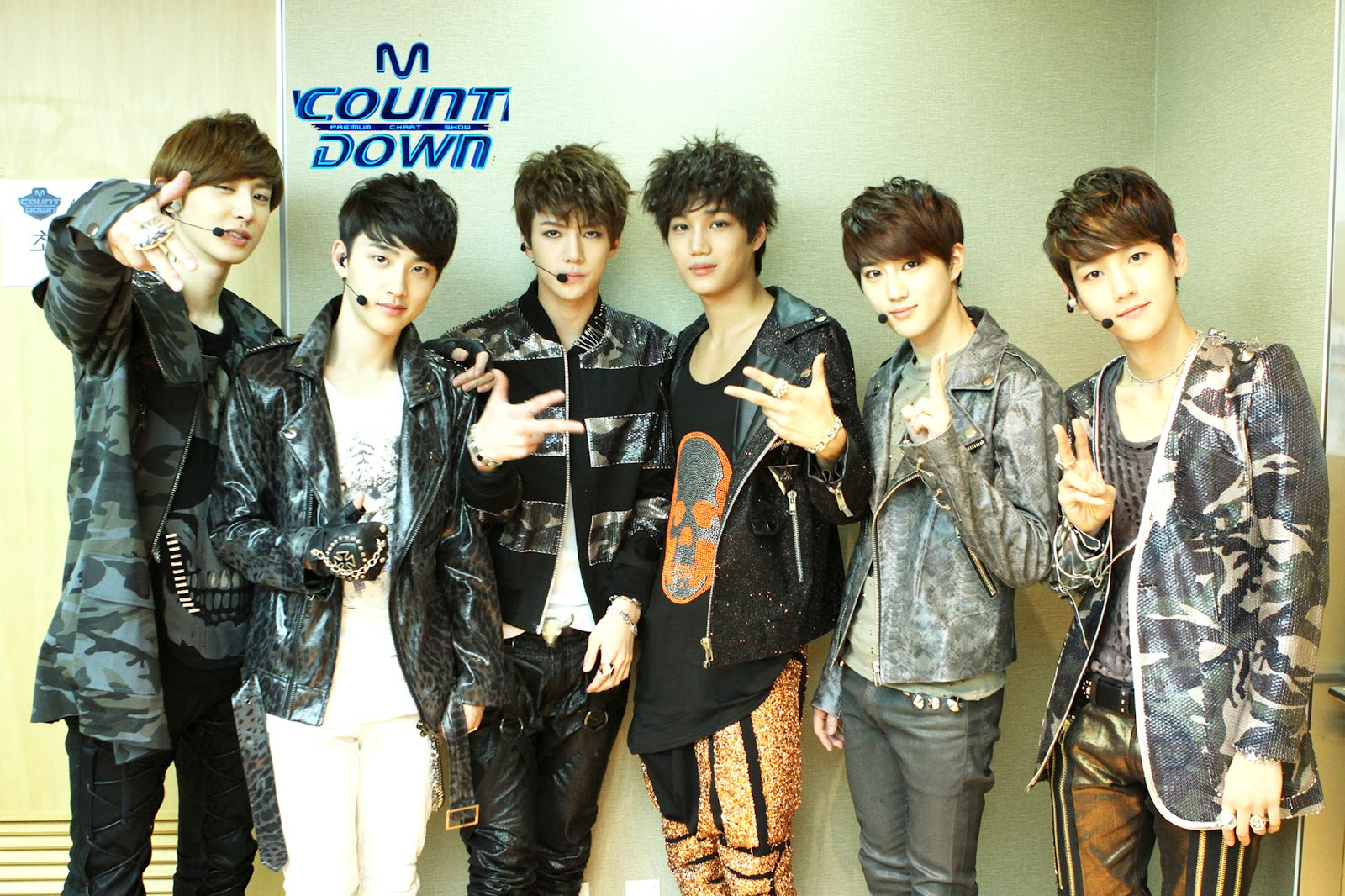 entertainment booth 120419 exo k on mnet mcountdown