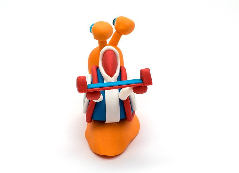 Turbo fondant figurines back