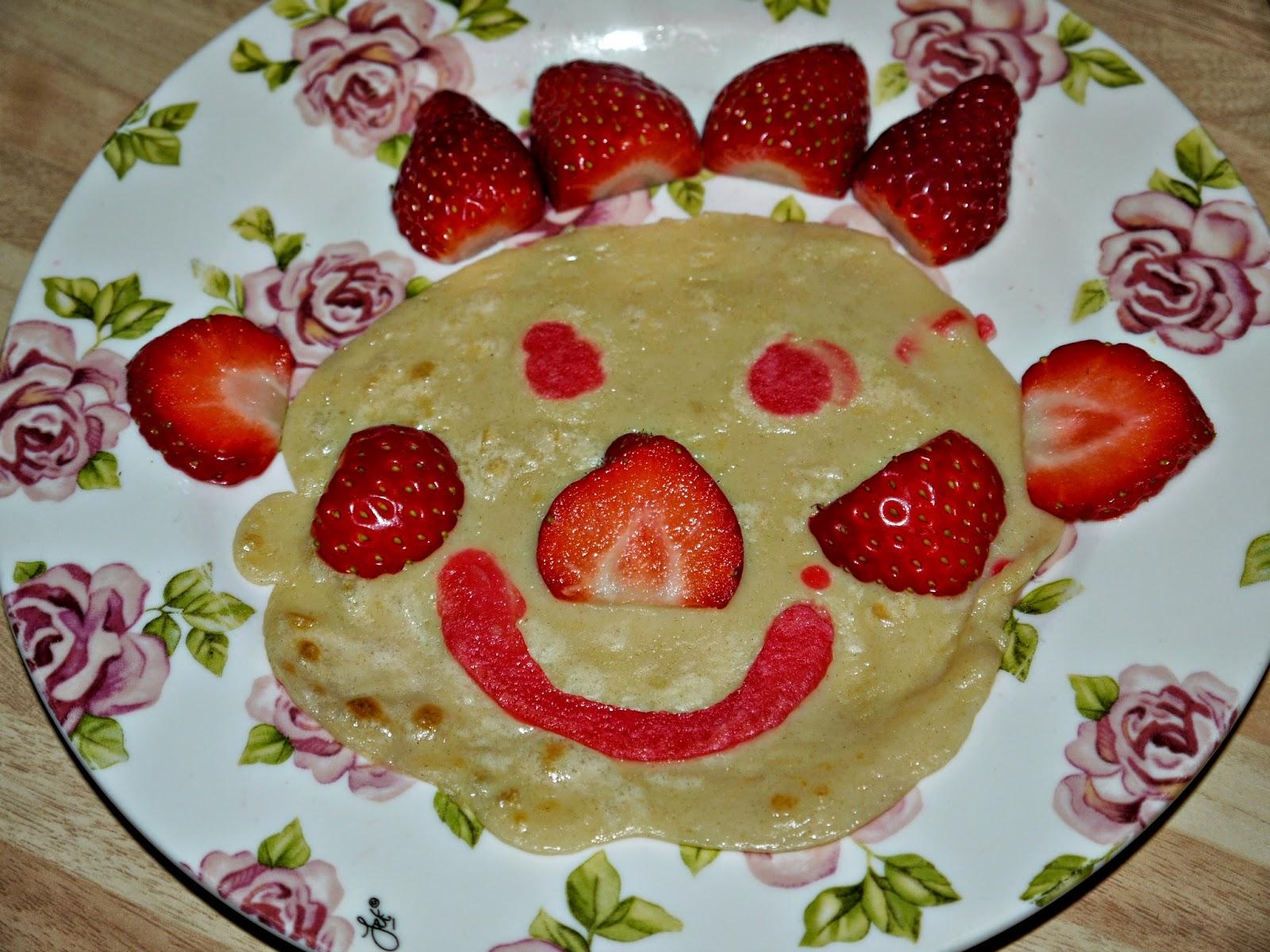 pancake, maple syrup