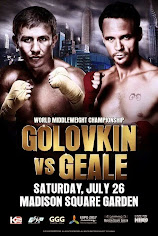 Who wins the Gennady Golovkin vs Daniel Geale battle at MSG on HBO 7/26?