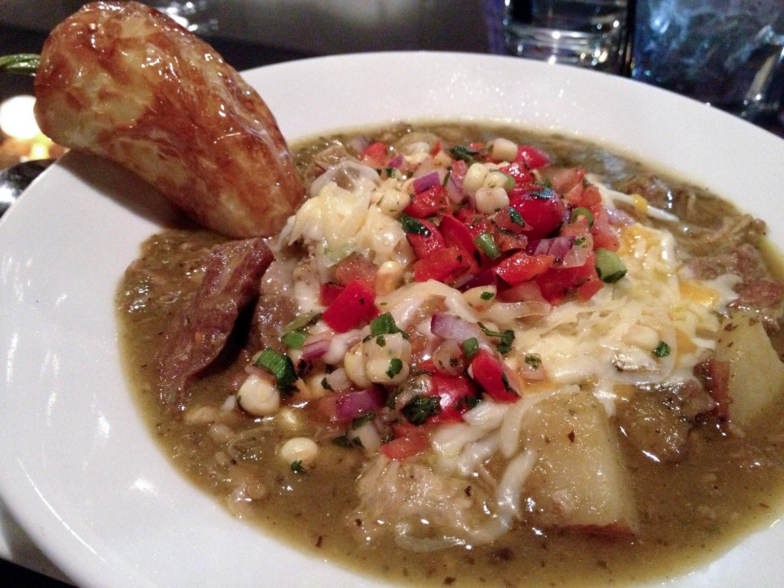 food blog, food blogger, pork, soup, chili, potato, corn, salsa, fry bread, black sheep cafe, green chili pork soup, soup, places to eat in provo, provo restaurants,