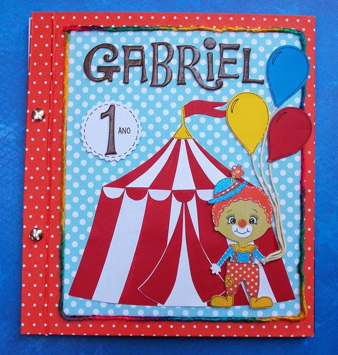 Festa de 1 ano = tema Circo