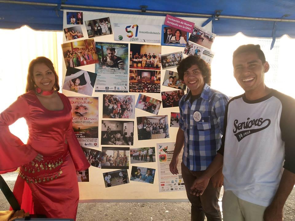 Nueva Acrópolis participó en Feria de Logros del Ministerio de Educación de El Salvador