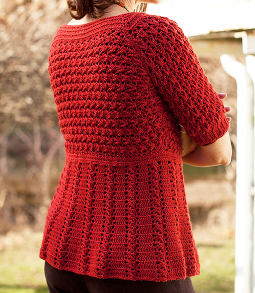 Crochet Patterns Ladies Cardigans : crochet by faye: Azilal Cardigan on Berroco.com