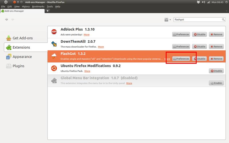 Mengatur Add-ons di Mozilla Firefox