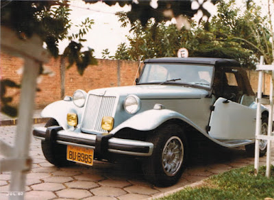Rubens Inserra comprou um MP Lafer TI 1979 em 1981. Agora ele precisa de ajuda para reencontrar o carro de placa amarela BU-8985.