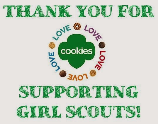 photograph regarding Girl Scout Cookie Thank You Note Printable named Lady Scout Cookie Thank On your own Playing cards Printable