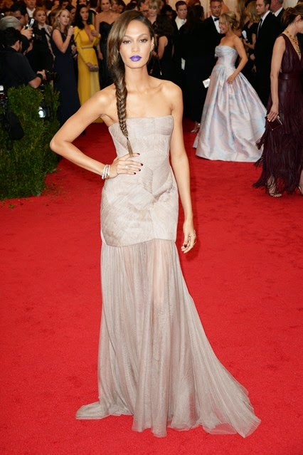 Red Carpet Met Gala 2014 joan smalls