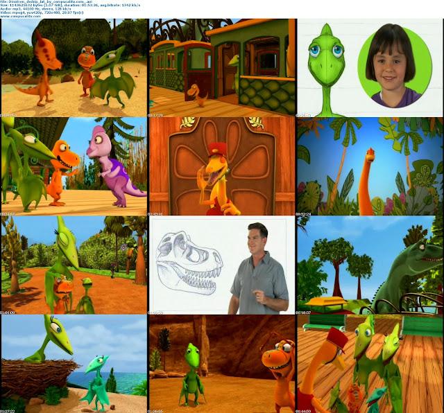 Fiesta Sorpresa en el Dino Tren 2011 DVDRip Español Latino Descargar