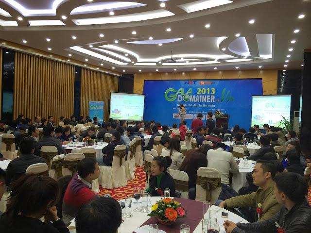 Hơn 150 Nhà đầu tư tên miền tham dự Gala Domainer 2013