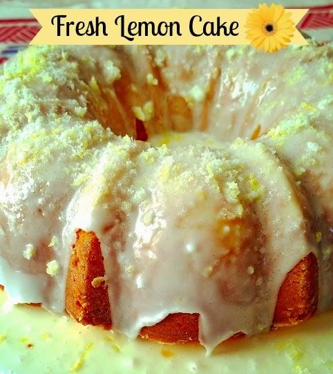recipe, cake, lemon