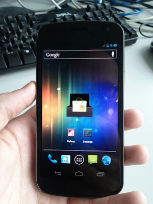 First Leaked Image of Nexus Prime Powered by Android 4.0 ICS