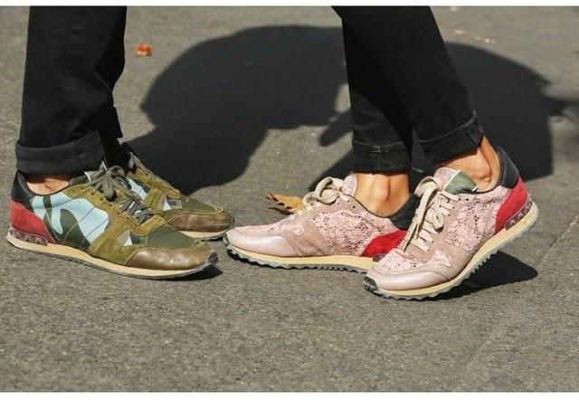 valentino sneakers 2015 shoe collection givenchy saint laurent giuseppe zanotti balmain. Black Bedroom Furniture Sets. Home Design Ideas