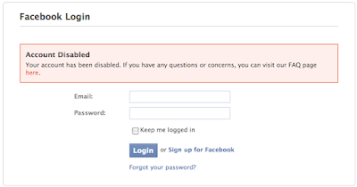 Recover Temporary Disabled Facebook Account
