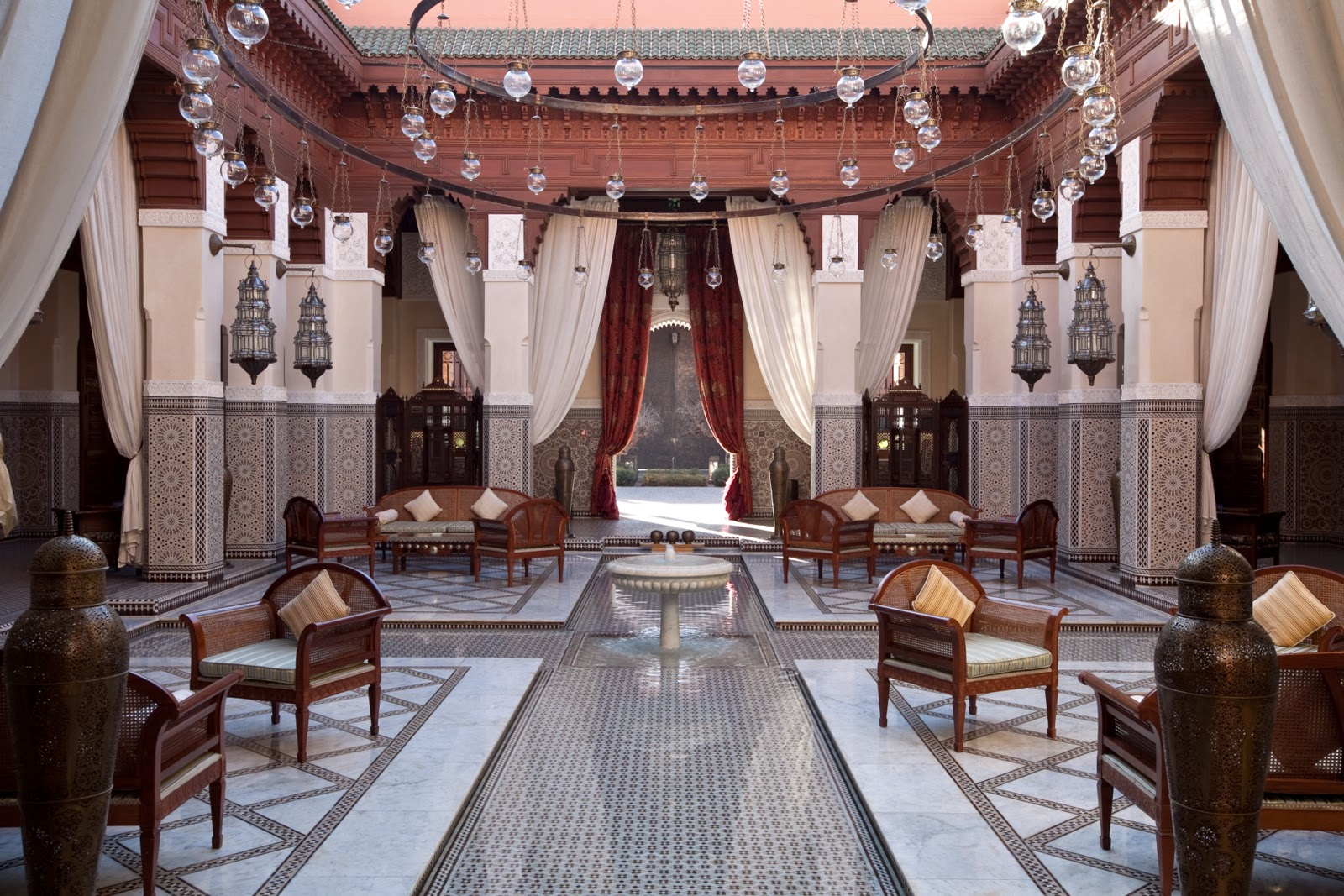 Alexandra d foster destinations perfected marrakech for Hotel design marrakech