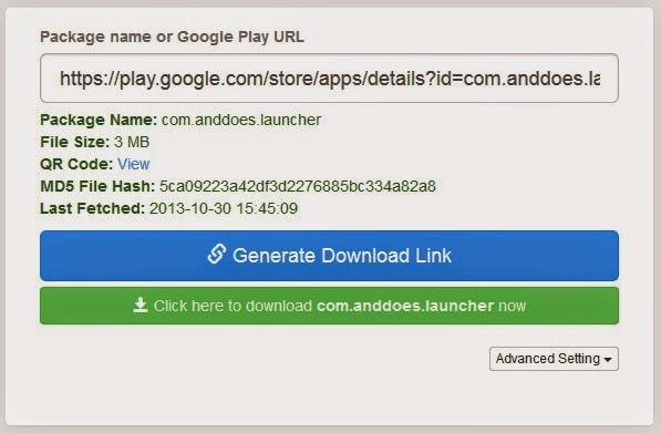 Cara Mendownload Aplikasi Google Play Store Melalui Situs
