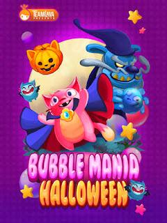 imagem do Jogo para iPhone Bubble Mania Halloween