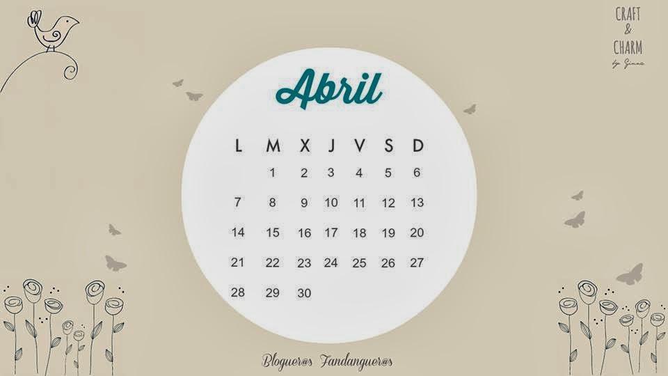 calendario Abril seis