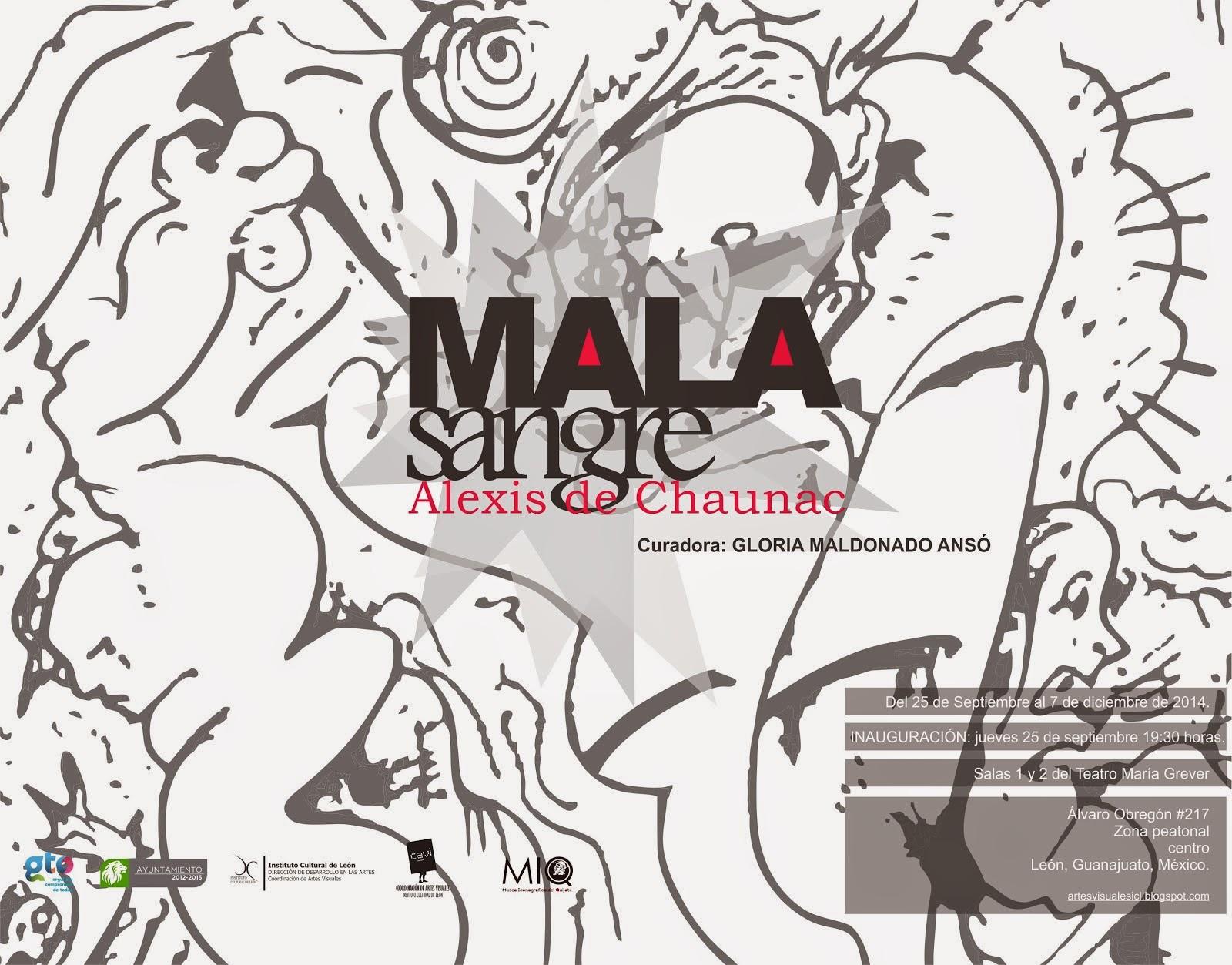 MALA SANGRE, Alexis de Chanuac