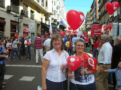 Manifestación V Marcha por la vida, aborto, mundoporlibre.com