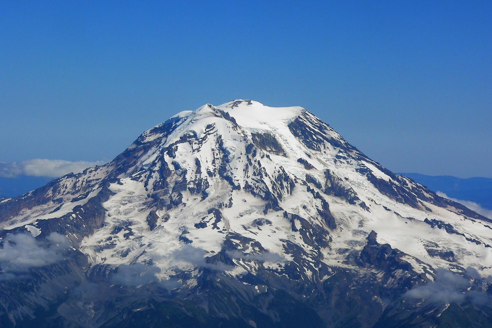 Travel Trip Journey: Mount Rainier Washington