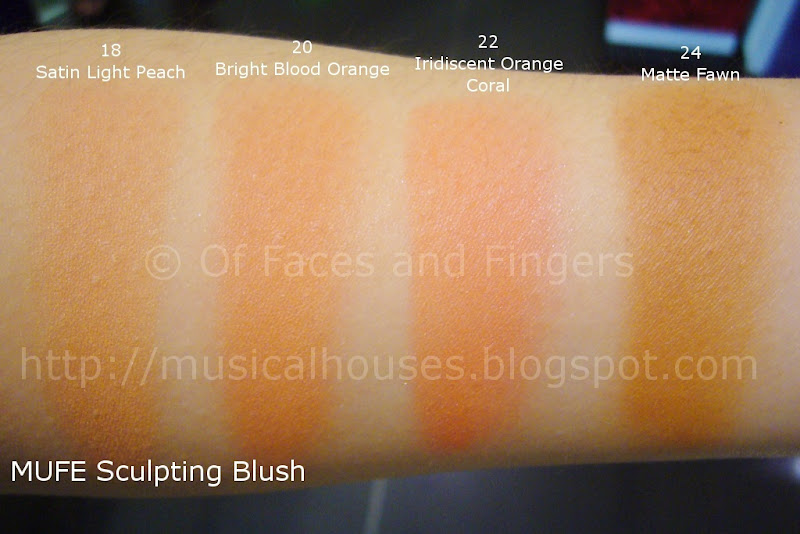 MUFE Sculpting Blush