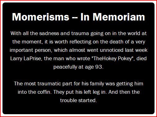 Momerisms In Memoriam