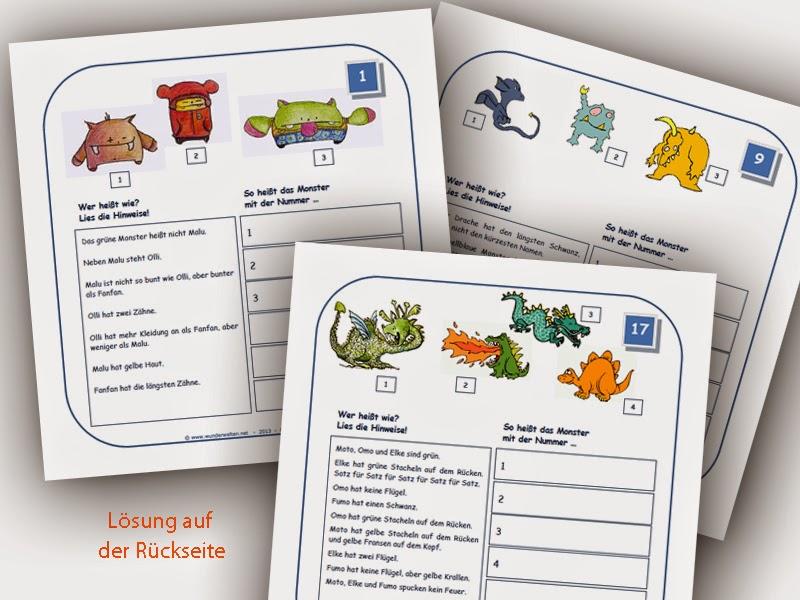 Grundschulmaterial - wunderwelten: Unterrichtsmaterial Grundschule kostenlos u0026 Arbeitsblu00e4tter ...