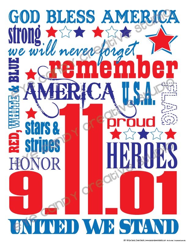 9/11, heroes, 9/11 art, free 9/11 subway art, united we stand, america, never forget