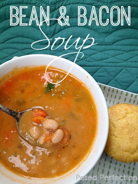 Bean & Bacon Soup- Top 10 Recipes of 2014