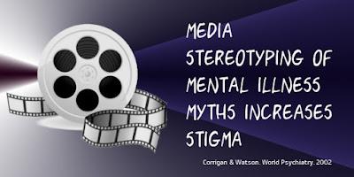 media mental illness myth stigma