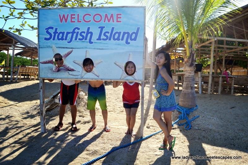 family trip in Honda Bay Palawan