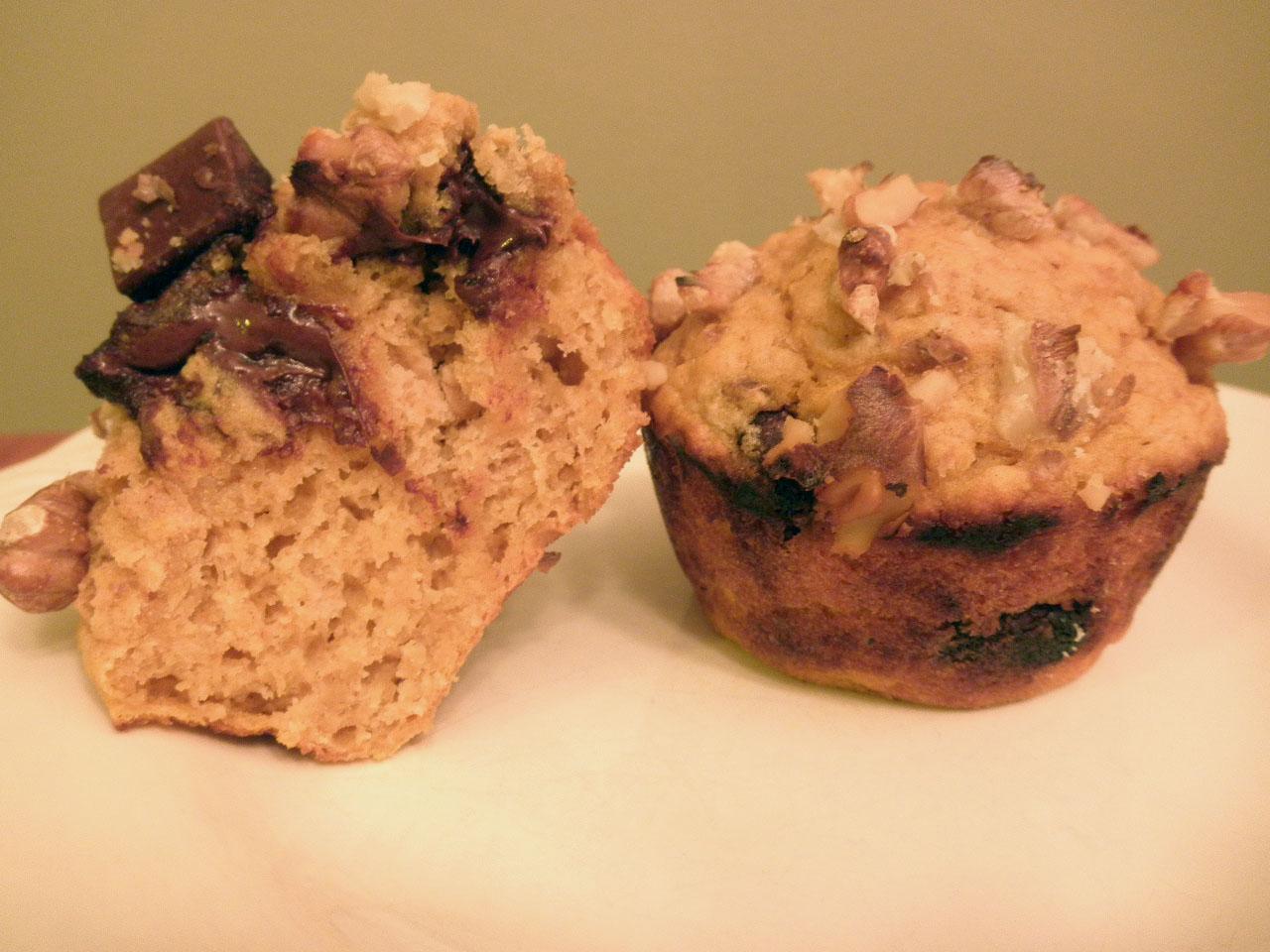 Mack Simone: Pumpkin Chocolate Chunk Muffins