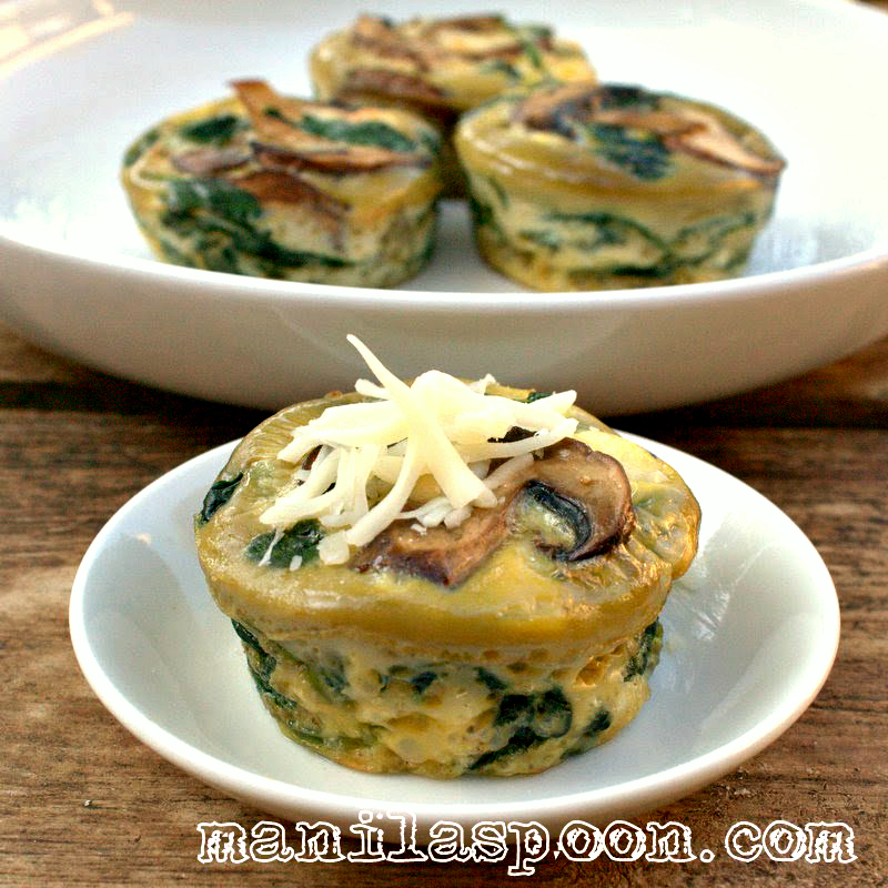 Spinach Quiche Cups Manila Spoon