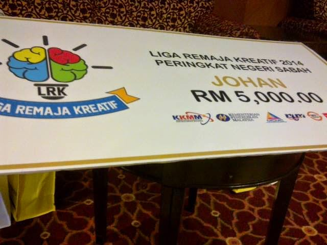 Keputusan Liga Remaja Kreatif 2014 (Zon Sabah)