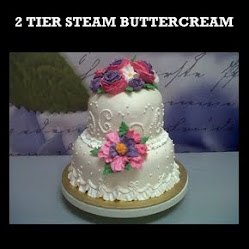 Steam Buttercream Kek