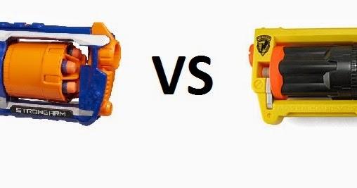 nerf strongarm  Outback Nerf: N-Strike vs Elite Round 6: Nerf Elite Strongarm vs N ...