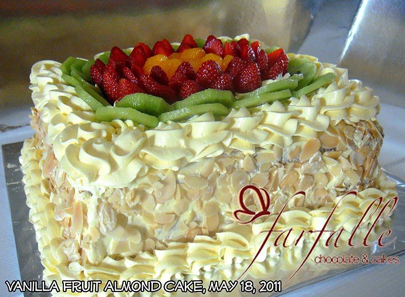 Vanilla Fruit Cake