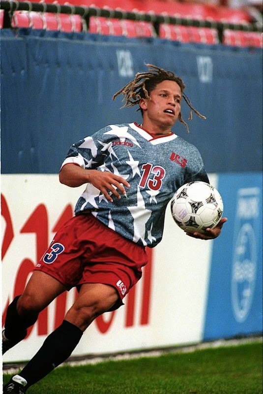 USMNT denim jerseys