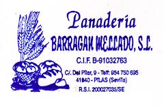 Panadería Barragán Mellado.