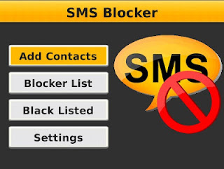 SMS Blocker update v3.0.0 for Blackberry