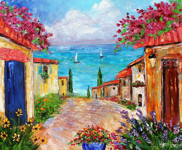 palette knife painters international