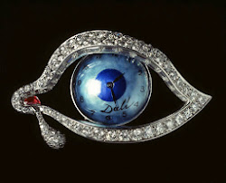Artwork: The Eye Of Time 1949 by Salvador Dali