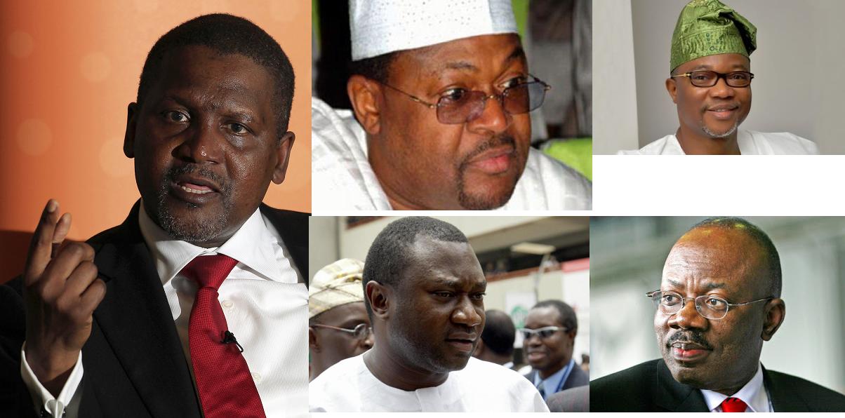 Top 20 Forbes' Richest Nigerians