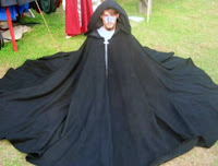 wool full-circle cloak