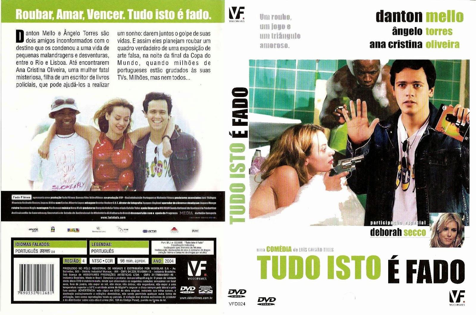 Capa DVD Tudo Isto É Fado