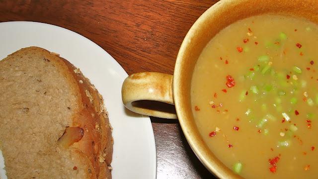 Creamy Lauki Soup / Bottle Gourd Soup