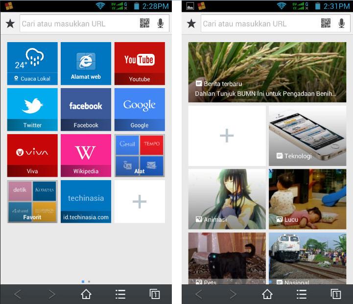 Browser Baidu Untuk HP Android