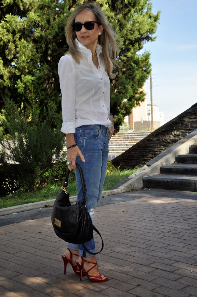 How to wear white shirt   Como combinar camisa blanca