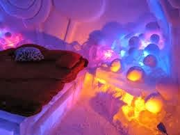 Habitación hotel de hielo